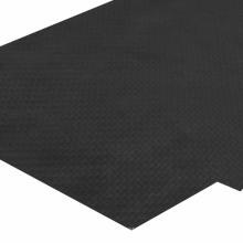 Fibra de carbono folha de Matt 3k