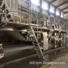 Wheat Straw Pulp Tissue Paper Making Machine