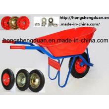 Modèle européen brouette de roue (7808M)
