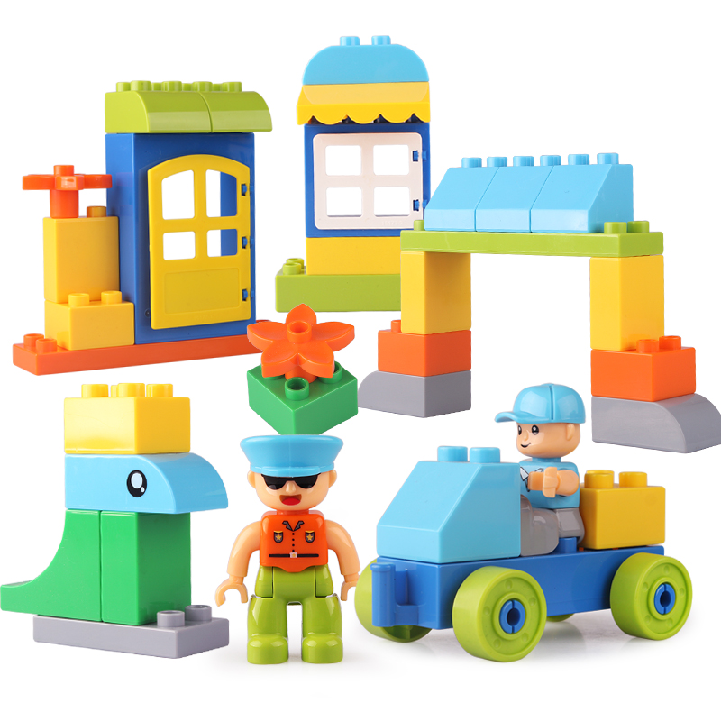 Block City Vintage Toy