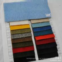 tela mezcla de lana de alpaca para el pelo largo abrigo de invierno