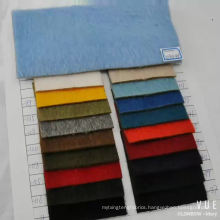 wool alpaca blend fabric for winter coat long hair