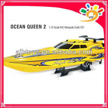 Ocean Queen 2 Boat 2.4GHZ RC Speed Boat 1:12 Scale High Speed RC Boat