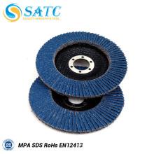 disque de rabat d'oxyde de zirconium abrasif avec la bonne qualité