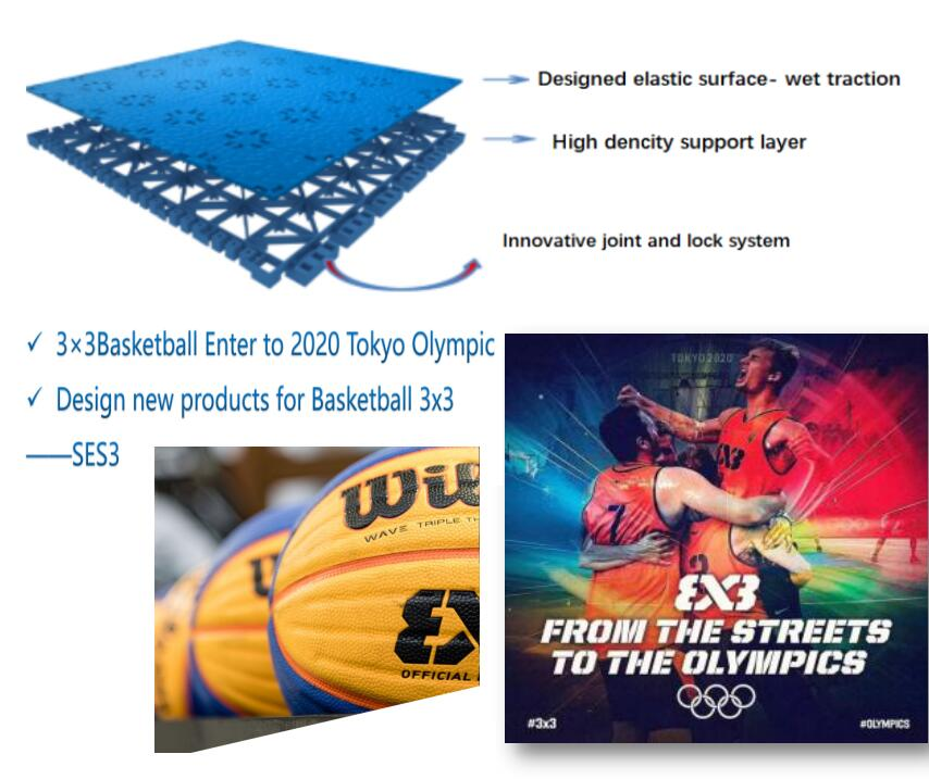 Basketball flooring 16