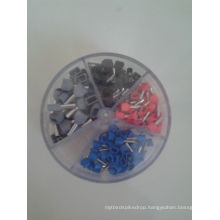 Round Plastic Box Packed Insulated Terminals Assorted Sizes