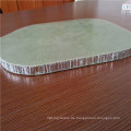 Aluminium-Waben mit Fiberglas-Haut für Bodenplatten