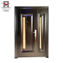 puerta de acero de seguridad de precio por mayor