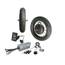 2000w Front Rear Wheel E bike conversion kits 20x4.0 wheel with tire