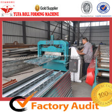 Baja Lantai Decking Plate Roll Forming Machine
