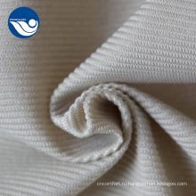 Бархатная ткань дивана в полоску