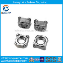 Stock Stainless Steel Square Weld Nuts