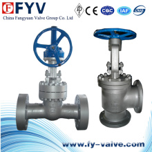 Angle Bolted Bonnet Pressure Seal Globe Valve