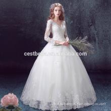 Мода роскошные свадебные бальные платья с хорошим качеством и дешевым ценой