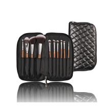 Synthetic Hair Cosmetic Make up Brush with Special Wooden Handle
