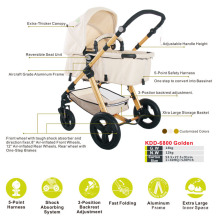 Ce approved european and australia type popular baby stroller with four wheels