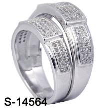 925 серебряных ювелирных изделий с кубическим цирконием для женщин (S-14564. JPG)