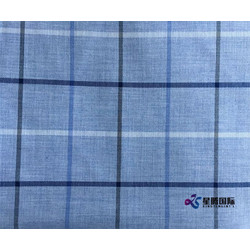 Printed Breatheable Shirt Cotton Mix Fabric