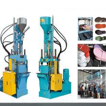 Máquina de moldeo por inyección vertical de servo control para zapato único Hl-1280