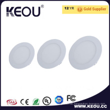 Factory Price 18W Recessed Round LED Panel Light Wholesale