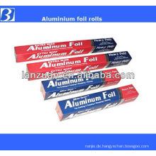 Umhüllung Aluminiumfolie roll