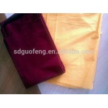 tela de Spandex de la tela cruzada libre del algodón de la arruga para los pantalones 20 * 16 + 70D