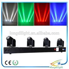 4X10W RGBW führte Stab bewegliche Hauptstrahl / disco Lichter Chinesisch