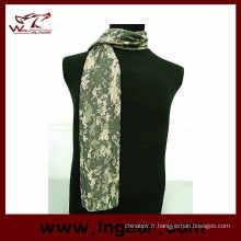 Face voile maille filet écharpe masque foulard militaire Camo écharpe