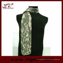 Cara velo malla malla bufanda máscara bufanda militar Camo bufanda