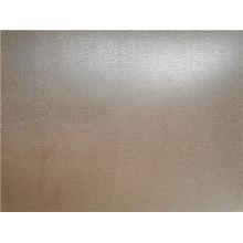 Folha de alumínio laminada em película de pvc em relevo