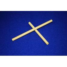 High Pressure Precision Yellow Industrial Zro2 Ceramic / Zirconia Ceramic Tube