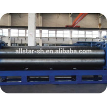 Barrel corrugated roll forming machine used for step roof tile