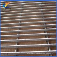 Canada Standard Galvanized ou Powder Coated 358 Anti-Climb Fence