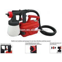 500w piso basado en energía sin aire spray de pintura herramientas de pintura eléctrica HVLP Auto Spray pintura de la máquina
