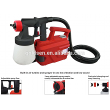 500W à base de plancher Peinture à air sans air Peinture Outils électrique HVLP Auto Spray Paint Machine