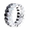Bague à bijoux en argent sterling 925 Silver CZ