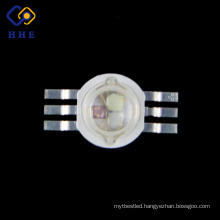 6 pin rgb led 3W/ 3W rgb diode for stage lighting/ Shenzhen rgb led