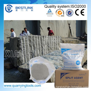 Environment Friendly Stone Splitting Agent