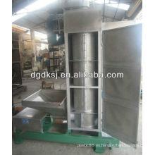 SS304 centrífuga vertical máquina de deshidratación y secador de centrifugado