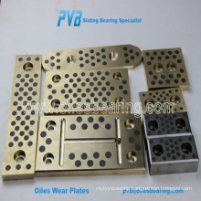 copper alloy bearing pad, johnson metal bearing, graphite friction plate