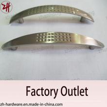 Fábrica de venda direta de aleta de zinco alça de móveis de alça de gabinete (ZH-1033)