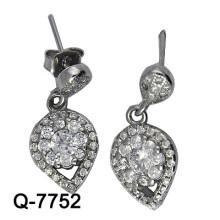 Новый дизайн 925 Серебряный моды серьги бижутерия (Q-7752. JPG.)