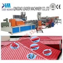 1050mm tipo español / Europa tipo UPVC Roofing Tiles Machine
