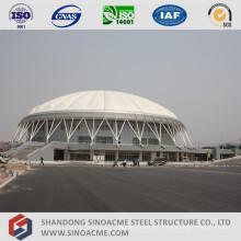 Große Spannweite Rohrbinder-Struktur für Sportzentrum