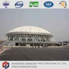 Large Span Pipe Truss Structure for Sports Center