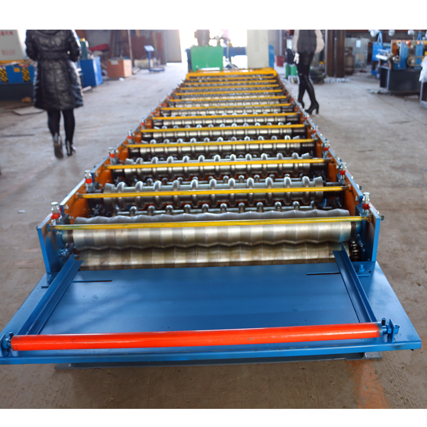 Automatic Corrugation Roll Forming Machine