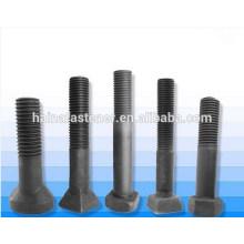 Parafuso de forro quadrado de aço de alta resistência