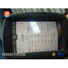 Безшовная пробка ASTM a213 стали обожженное tp321 теплообменник Труба 25 х 2 х 9000мм Гидростатическое испытание и испытание Вихревого тока