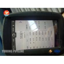 Tubo sin costura ASTM A213 TP321 Tubo intercambiador de calor