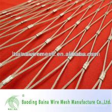 Promotion X-tend flexible Stahlseil-Mesh-Zaun Herstellung